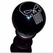 Black Punisher Skull shift knob fits GT86 FT86 BRZ FR-S lockout shifter