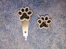 New! Gift Set Sparkly Paws Needle Minder + Magnetic Needle Threader Cross Stitch