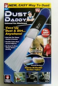 Dust Daddy Dust Cleaning Tool Universal Vacuum Attachment  As Seen On TV