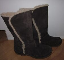 Patagonia Wms Suede Lugano Velvet Brown Winter / Snow Boots 7