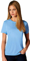 Hanes Women's Cool DRI Performance T-Shirt Women's Tops FreshIQ Short Sleeve Gym