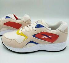 Reebok Torch Hex Sneaker Pale Pink Cobalt Blue Yellow Red Women's Size 7