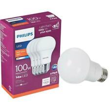 8 count ,2 boxes Phillips LED 100 watt Soft White Light Bulbs