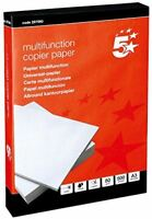 5 Star Ufficio Copiatrice Carta Multifunzione Ream-Wrapped 80gsm A3 Bianco [500