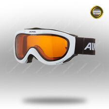 ALPINA Freespirit Alpine-Brille belüftet Orangeglas Ski Snowboard weiß Winter