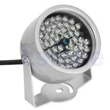 48 LED CCTV Illuminator Light IR Infrared Security Camera Night Vision Lamp