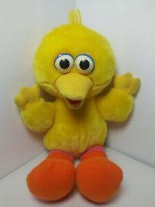 Vintage 1996 Tyco Tickle Me Big Bird Sesame Street Plush Toy Laughs & Shakes