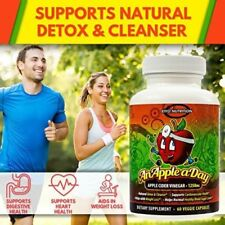 Apple Cider Vinegar Capsules - Extra Strength Weight & Fat Loss Supplement Diet