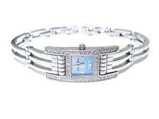 New Techno Mania Elite White Diamond Ladies Stainless Steel Watch