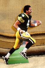 "Brett Farve Green Bay Packers Quarterback NFL Tabletop Display Standee 10.5"" T"