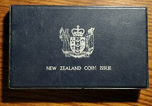 New Zealand 1973 7 Coin Proof Set(Leather Broken)