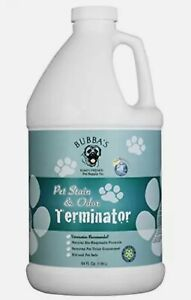 BUBBAS Super Strength Commercial Enzyme Cleaner - Pet Stain Odor Eliminator 64oz