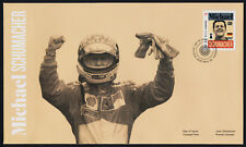 Canada 2996 on FDC - Formula 1 Racing - Michael Schumacher, Motor Sport