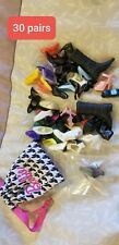 Lot Doll Shoes Barbie 31 Pairs two pairs Louboutin shoes included