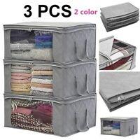 灬灬Home Closet Storage Bags Clothes Container Bag Foldable Pouches Home Organizer