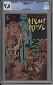 NIGHT MUSIC #3 - CGC 9.6 - ONLY GRADED COPY ON CGC CENSUS!! - 3713582023