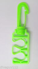 LP Octo Clip Holder Keeper Scuba Diving 2nd Stage Hose E-Type AA77 Green