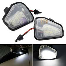 CAN-bus White LED Under Side Mirror Puddle Lights For VW CC EOS Passat Scirocco