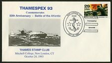 Battle of the Atlantic 50th Anniv, New London CT [1] ANY 4=
