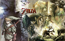 Zelda Twilight  Princess . Wall Poster - Huge  - 22 in x 34 in - Fast shipping