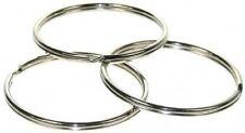 3 Large résistant 58mm fendu anneaux, Qualité Premium, clé Support, GB fabriqué,
