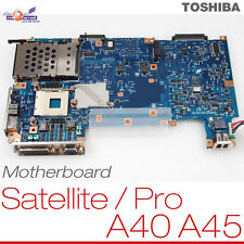 Scheda Madre Toshiba Satellite/PRO a40 a45 p000392610 flm1 m2 a5a0009 006 Board