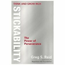 Think and Grow Rich: Stickability, The Power of Perseverance-ExLibrary