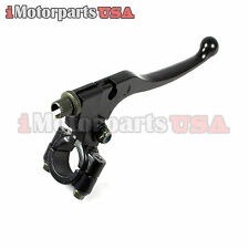 SUZUKI RM 50 60 80 85 100 125 250 DIRT BIKE LEFT CLUTCH LEVER W/ PERCH ASSEMBLY