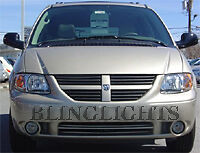 XENON HALOGEN FOG LIGHTS Lamps for 2001-2007 DODGE CARAVAN foglamps foglights
