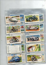 cigarette cards ships trains aeroplanes speed 1938 full set