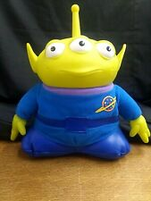 Disney Thinkway Toys TOY STORY Space Alien Plush Figure Glows In The Dark Talks