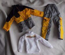 Get Real Girl Skylar Snowboarding Adventure Action clothes pants jacket shirt