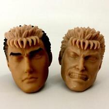 ThreeZero Berserk Guts 1/6 Scale Head Sculpt Unpainted 2pcs BIN