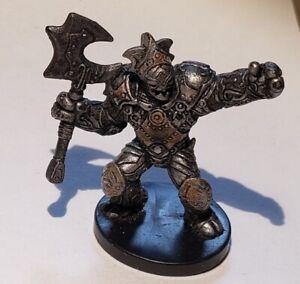 D&D Miniatures - War Drums: Warforged Captain (Uncommon) #12 w/Card