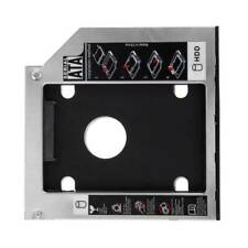 Universal 9.5mm SATA 2nd II HDD SSD Hard Drive Caddy For Laptop CD DVD-ROM ODD