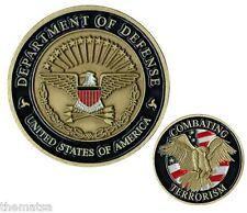 DOD DEPARTMENT OF DEFENSE COMBATING TERRORISM CHALLENGE COIN