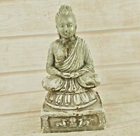 Old Antique Handmade Lord Buddha  Marble Statue/  Idol / Sculpture Collectible
