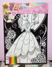 New Disney Princess Beauty and the Beast Belle Velvet Art Poster