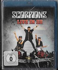 Blu-ray Scorpions `Live In 3D - Get Your Sting & Blackout` Neu/New/OVP