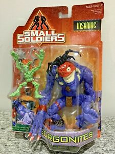 1998 Kenner Hasbro Small Soldiers Gorgonites Insaniac Action Figure New