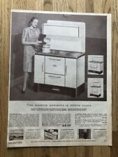 VINTAGE COOK STOVES ADVERTISING PAGE FROM '48-'49 EATON'S CATALOGUE
