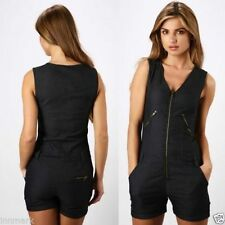 Denim Plus Size Sleeveless Jumpsuits & Playsuits for Women