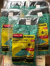 5X NEW Rubbermaid Commercial Products Maximizer #24 Microfiber Tube Mop Head