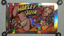 """Bottleneck Rockin Jelly Bean Harley Quinn 31.5"""" x 19"""" FOIL VARIANT #64/100"""