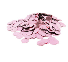 1 CM X ROSE GOLD WEDDING CONFETTI TISSUE PAPER TOSSING THROW CIRCLES BALLOON