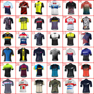 Men's Bike Ride Cycling Jersey Short Sleeve Breathable Quick Dry Riding Shirts