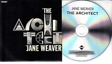 JANE WEAVER The Architect EP 2017 UK 4-trk promo test CD