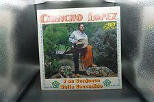 LATIN CONJUNTO - CHENCHO LOPEZ VINYL ESTERIO LP PRODUCED BY DISCOS JOEY. 1979