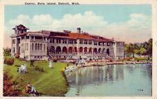 Casino, Belle Island, Detroit, Mi 1927