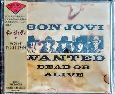 """BON JOVI - WANTED DEAD OR ALIVE - """" JAPANESE CD-SINGLE """" - """" NEW, SEALED """""""